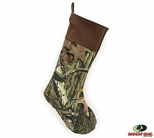 Burton Mossy Oak Camouflage Brown or Pink Cuff Holiday Christmas Stocking