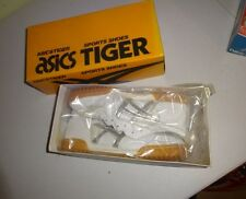 Deadstock Asics Tiger Pacific II  in box running shoes white silver VTG