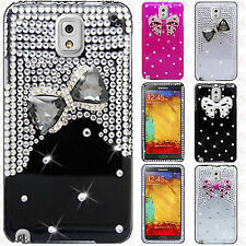 Samsung Galaxy Note 3 Crystal Diamond 3D BLING HARD Case Phone Cover Accessory