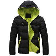 XMAS 20% OFF YOUNG Men Warm Winter Hooded Coats Thicken Jacket Outwear SKI Parka