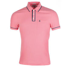 Mens Penguin Earl Updated Polo Shirt In Pink This Designer Polo Shirt For Men