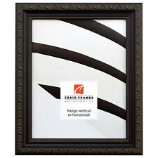 "Craig Frames Ancien Ornate, 1.25"" Antique Black Picture Frame"
