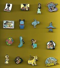 Aladdin Jafar Jasmine Genie Robin Williams The Lion King Splendid Disney Pin