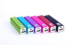 x 2600 mAh Power Bank Portable External Backup Battery Charger USB for cellphone