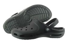 Crocs Duet Plus 12212-02S Black Graphite Casual Sandals Slippers Unisex