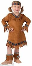 Native American Princess Indian Girls Child Toddler Halloween Cute Costume NEW