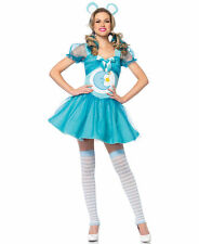 Cheer Bear Care Bears Blue Bedtime Adult Womens Leg Avenue Halloween Costume