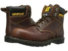 """Mens Caterpillar® Second Shift Steel Toe 6"""" Safety Work Boots Wide Width Size"""