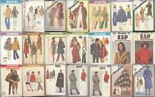Vintage Simplicity Sewing Pattern Misses Coats Jackets Winter Outerwear You Pick