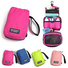 Travel Cosmetic Makeup Toiletry Purse Holder Organizer Hanging Beauty Wash Bag