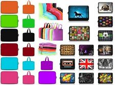 "7"" 8 Tablet PC Extra Pocket Case Felt Sleeve Bag Cover For ZTE Micromax Plum Tab"