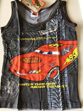 Handsome Boys Kids Children Summer Mcqueen Racing Car Singlet Vest Tank T-shirt
