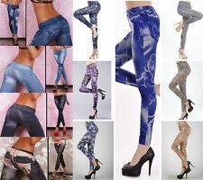 Hot Popular Women's Slim Fit Sexy Denim Jeans Multicolor Leggings Skinny Pants