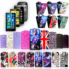 For Nokia Mobile Phones Stylish Luxury Printed PU Leather Flip Case Cover Pouch