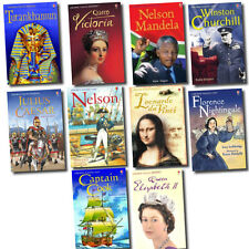 Young Readers Children School History illustrated Books Collection Set Pack