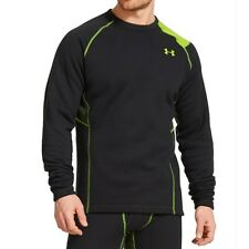 Under Armour Base 5.0 Scent Control Crew Long Sleeve Layer (Black) 1231167-001