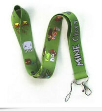 Free shipping Lot Popular Game Lanyard For Mobile Phone Id Card Keychain Holder