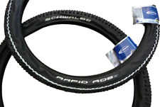 Schwalbe Rapid Rob 26x2.25 MTB PNEUMATICI Mountain Bike ciclo GOMME Kevlar Guard Nuovo