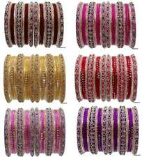 Set of 26 Indian Ethnic Bangles Bollywood Belly Dance Fashion Sari Bracelets