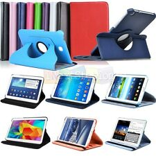"360 Rotating Leather Case Cover For Samsung Galaxy Tab 3 4 Tab Pro 7"" 8"" 10.1"""