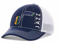 "Utah Jazz NBA Adidas ""Zone Mesh"" Stretch Fitted Hat New With Tags"