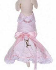 Cha Cha Couture - HOLLYWOOD DRESS - DOG HARNESS & LEASH - LARGE