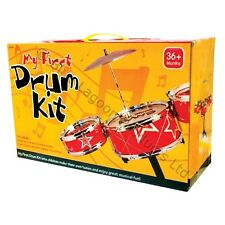 My First Mini Drum Kit Small Child Childrens Kids Xmas Gift Musical Percussion