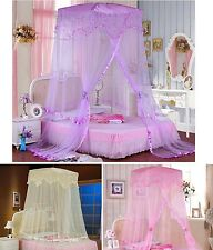 Romantic Hight Quality Princess Mosquito Net Bed Canopy Bedding All Size
