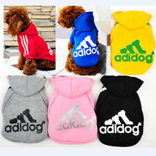 Autumn Winter PET Dog Clothes Cotton Sportswear Coat For Dogs Adidog Hoodie