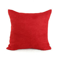 Candy Color Soft Micro Suede Sofa Pillow Case Cushion Cover Home Decor 40*40cm