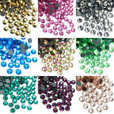 1440pcs 10Gross DMC Iron On Hotfix Flatback Crystal Rhinestones SS12 SS16 SS20