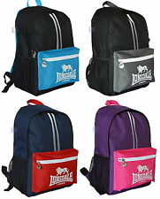 Lonsdale London Rucksack Backack Bag Gym School Uni  FREE SHIPPING
