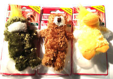 Kong Dr Noys extra Squeaky Small Animal Toys for Dogs-Duck,Frog & Bear CCI