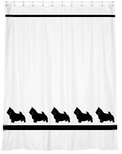 Norwich Terrier Dog Shower Curtain *Your Choice of Colors* - for you