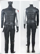 The Avengers Captain America II Winter Soldier Full Sets Cosplay Costume HOT