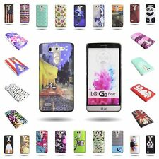 For LG G3 Vigor Slim Protective Snap On Phone Case Hard Plastic Design Cover