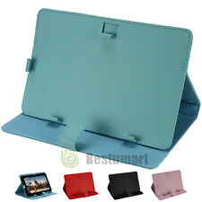 "Universal Adjustable PU Leather Stand Case Cover For Android Tablet 10"" 9"" 7"""