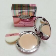 [Rivecowe] Skin Care Moisture TwoWay Cake Powder Foundation UV blocking effects.
