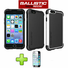 For iPhone 6/6s/6 Plus/6s + Ballistic Tough Jacket SG Shell Gel Hard Case Cover