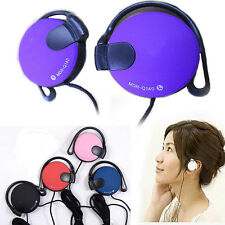 Outdoor Sport Earphone Clip On Headphone Headset for Mobile Phone MP3 MP4 Player