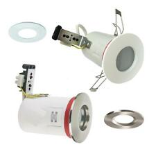 4 X FIRE RATED IP65 BATHROOM SHOWER DOWNLIGHT RECESSED SPOTLIGHT 240V ZONE 1