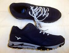 Mizuno Compete Turf Men's Baseball Turf Shoes NEW Navy/Grey Size Various Sizes