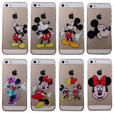 Cute Disney Cartoon Character Pattern Hard Skin Case Cover For iPhone 5/5S/5C/6