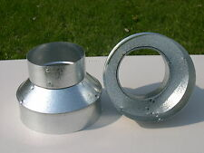 "5"" to 6"" - 5""x6"" Stove Pipe Reducer"
