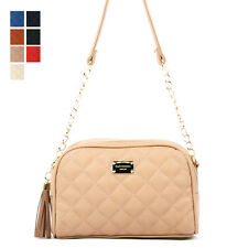 New Fashion Women Quilted Chain Handbag Tote Shoulder Cross Body Bag Purse