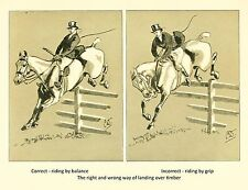 Image 2 of 6 From Cross Country With Horse And Hounds (1902) By J. Crawford Wood