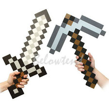 Pickaxe EVA FOAM/Iron/Diamond Gold Tool/Hand Held Game/Minecraft Sword/Pick Axe