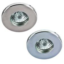 10 X IP44 SOFFIT LIGHTS BATHROOM DOWNLIGHT GU10 240V HALOGEN / LED - NO LAMP