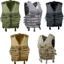 Black Olive Drab ACU Digital Camo Coyote Brown Tan MultiCam MOLLE Modular Vest