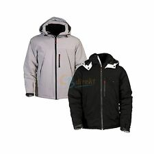A-CODE outdoor premium softshell hooded winterjacket